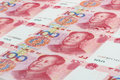 The Chinese currency Royalty Free Stock Photo