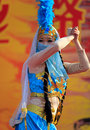 Chinese dancer Stock Image