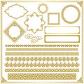Chinese decorative frame Stock Image