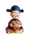 Chinese doll chinnese for celebrate new year Stock Photos
