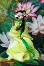 Chinese doll full body shot of a Stock Image