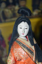 Chinese doll a old puppet Stock Image