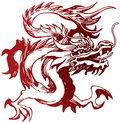 Stock Images Chinese Dragon