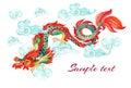 Chinese Dragon. Asian Dragon I...