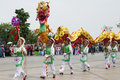 Chinese Dragon Parade Royalty Free Stock Image