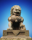 Chinese dragon statue sculpture Royalty Free Stock Image