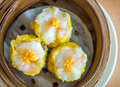 Chinese dumpling as breakfast or lunch Royalty Free Stock Photo