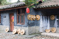 Chinese farmhouse Royalty Free Stock Photo