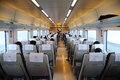 Chinese fast train interior Royalty Free Stock Image