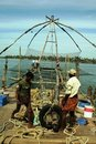 Chinese fishing net Royalty Free Stock Photography