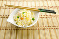 Chinese food, cantonese rice Royalty Free Stock Photo