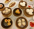 Chinese food in China town, Variety of dim sum set in the local restaurant in china, traditional Chinese lunch meal, dumplings, BB Royalty Free Stock Photo