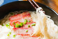 Chinese food wonton noodles Royalty Free Stock Photos