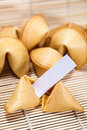Chinese fortune cookies Royalty Free Stock Photo