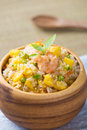 Chinese fried rice or nasi goreng popular cusine in asia photo Royalty Free Stock Photography