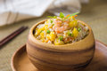 Chinese fried rice or nasi goreng popular cusine in asia photo Stock Image