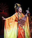 Chinese Gaojia Opera actress Stock Photography
