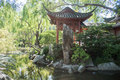 Chinese Garden of Friendship Gazebo Royalty Free Stock Photo