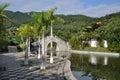 Chinese garden in Sanya Stock Photography