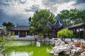 Chinese Garden of Serenity Royalty Free Stock Photo