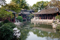 Chinese garden in suzhou scenery of Royalty Free Stock Photo