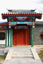 Chinese gatehouse peking Stock Fotografie
