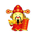 Chinese god of Prosperity Stock Photos