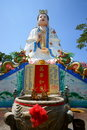 Chinese goddess statue Stock Image