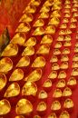 Chinese gold ingot Stock Photo
