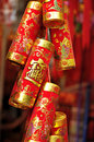 Chinese good luck imitation fireworks Royalty Free Stock Image