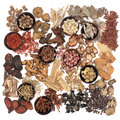 Chinese Herb Selection Royalty Free Stock Photo