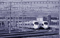 Chinese High-speed Rail Royalty Free Stock Photo