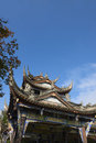 Chinese historic architecture closeup Royalty Free Stock Photo