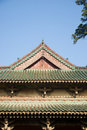 Chinese historic building closeup Royalty Free Stock Photo