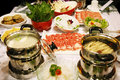 Chinese hot pot feast Royalty Free Stock Photo