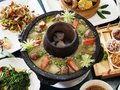 Chinese hot pot Royalty Free Stock Photo