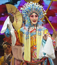 Chinese Hui opera actress Royalty Free Stock Image