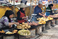Chinese hui street vendor Royalty Free Stock Images