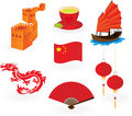 Chinese  icons. Stock Photo