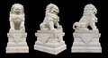 Chinese Imperial Lion Statue Royalty Free Stock Photo
