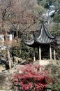 Chinese landscaped garden Royalty Free Stock Images