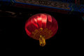 Chinese lantern close up on traditional red in beijing china Stock Photography