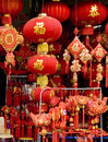 Chinese lantern the in the market close up Royalty Free Stock Image