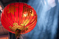 Chinese lantern in temple Royalty Free Stock Image