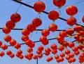 Chinese Lanterns Background