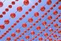 Chinese lanterns red Στοκ φωτογραφίες με δικαίωμα ελεύθερης χρήσης