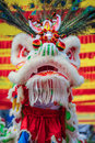 Chinese lion mask Royalty Free Stock Photo