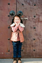 Chinese little girl Royalty Free Stock Photos