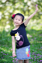 Chinese lovely girl Royalty Free Stock Photos