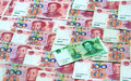 Chinese Money One Yuan Royalty Free Stock Photo